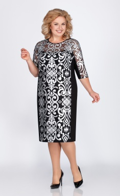 Dress LaKona 1051-1 chern/sereb