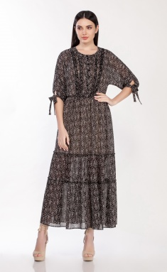 Dress LaKona 1302/1 chern/bel
