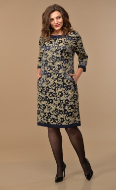 Dress Lady Style Classic 1427 t.sin-bezh