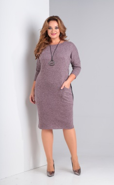 Dress Vasalale 625 pepel roz