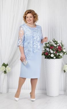1dc3753391d Платье Нинель 2148 голубой
