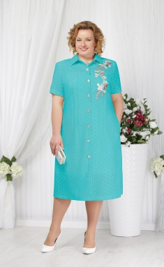 Dress Ninele 2154 biryuza