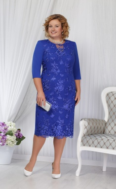 Dress Ninele 2170 vasilek