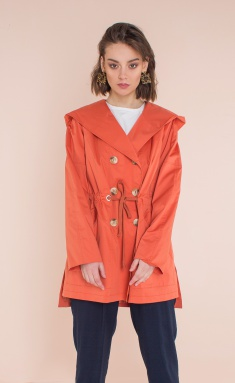 Raincoat Elletto 3319 terrakot