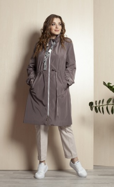 Raincoat Elletto 3385 bezh