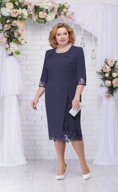 Dress Ninele 361 sinij