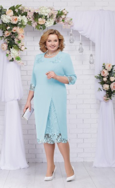 Dress Ninele 361 goluboj