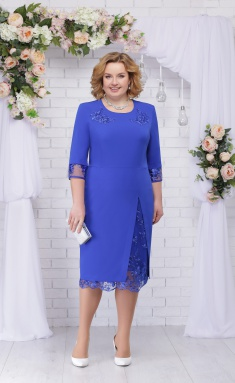 Dress Ninele 361 vasilek