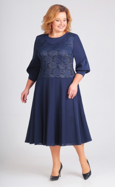 Dress Asolia 2383 t.sinij