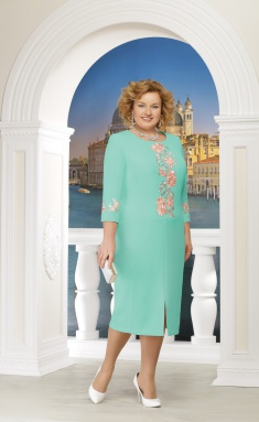 Dress Ninele 5608 zelenyj