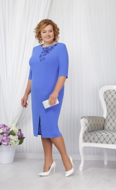 Dress Ninele 5648 vasilek