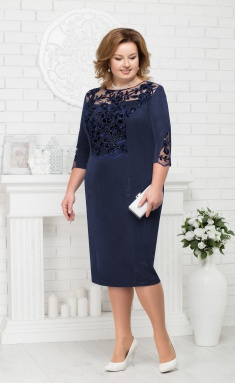 Dress Ninele 5685 sinij