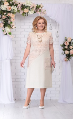 Dress Ninele 5710 bezhevyj