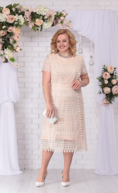 Dress Ninele 5713 bezhevyj