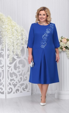 Dress Ninele 5721 vasilek
