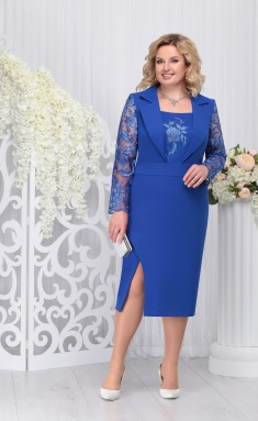 Dress Ninele 5723 vasilek