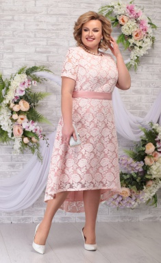 Dress Ninele 5776 pudr