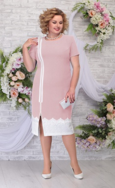 Dress Ninele 5790 pudr