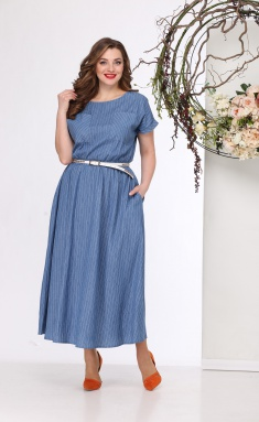 Dress Michel Chic 664 gol denim