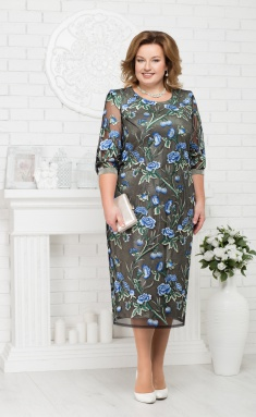 Dress Ninele 7220 vasilek