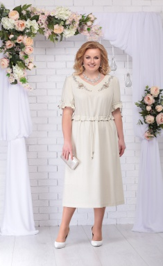 Dress Ninele 7234 bezhevyj