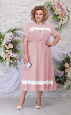 Dress Ninele 7292 pudr