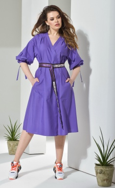 Dress Anna Majewska A210Purple