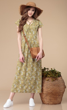 Dress Linia L B-1721 akaciya