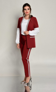 Suits & sets Roma Moda M520 + M215 bordo