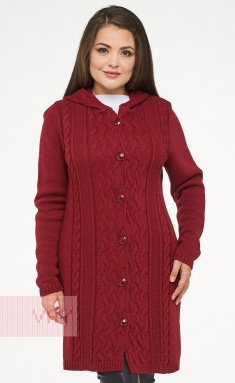 Jumpers, cardigans, blazers Newvay 182-1554 marsala