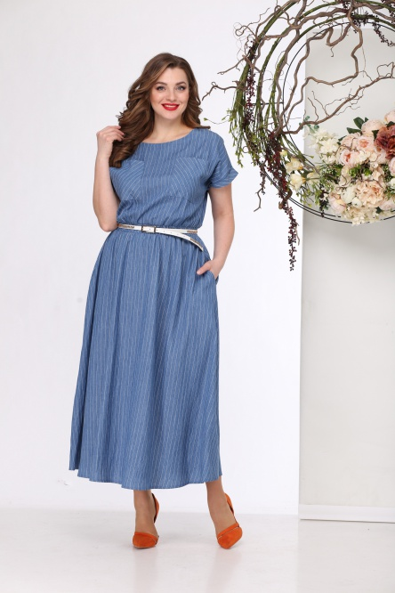 Dress Michel Chic #664 gol denim